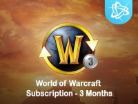 World of Warcraft 3 Months Subscription